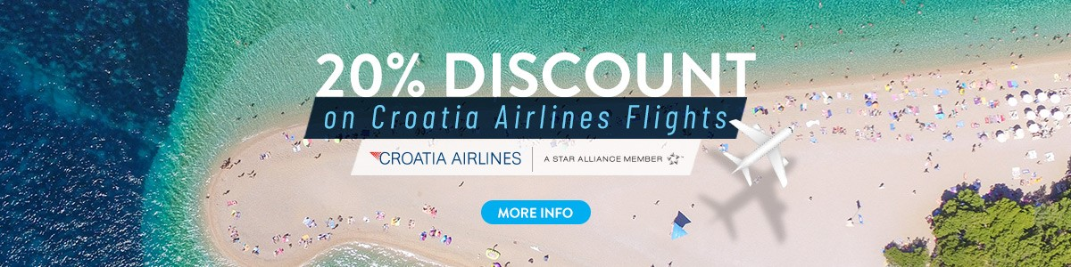 Croatia Airlines Flight Discount