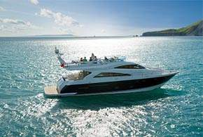 Chartering a luxury motor yacht