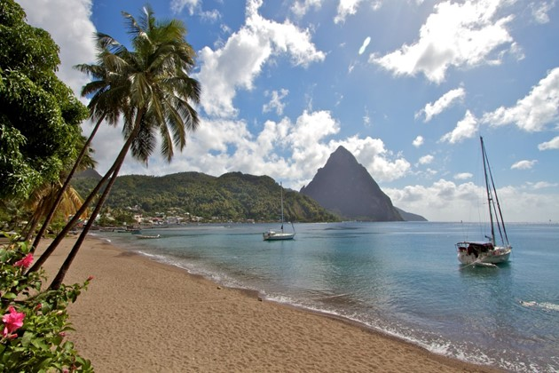 St.Lucia rent a sailboat