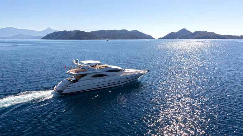 charter motor yacht  in Italy