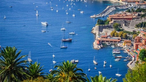 Sailing in France, French Riviera