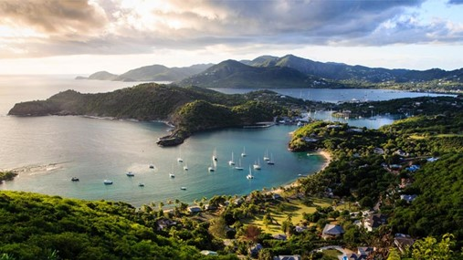 Sailing in the Caribbean, Antigua and Barbuda