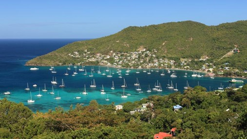 Sailing in Saint Vincent and the Grenadines, British Virgin Islands