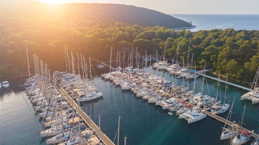 Sail in Split region, Yacht charter in Split region, Paklinski Islands, Palmizana