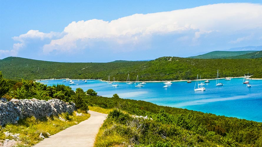 Sail in Istria and Kvarner region, Yacht charter in Istria and Kvarner region, Unije