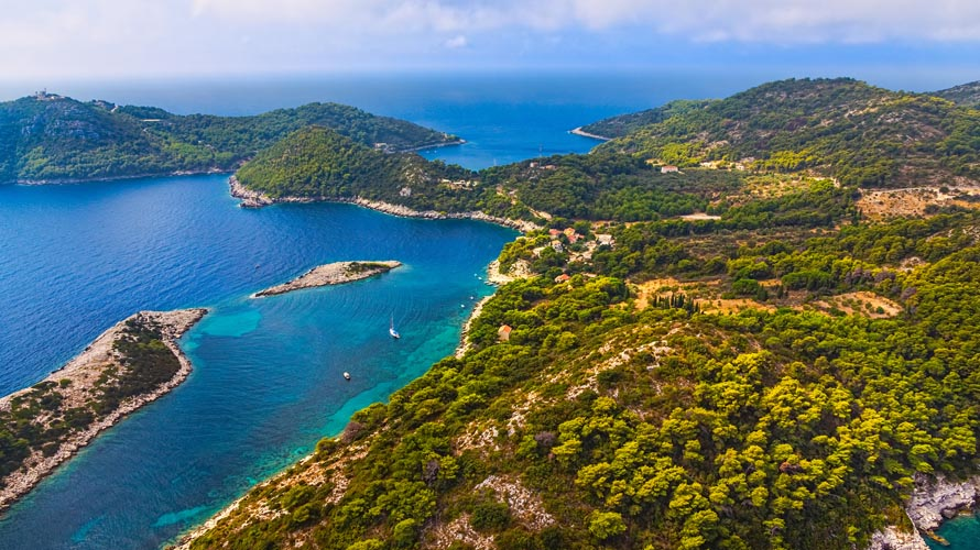 Sail in Croatia, Yacht charter in Croatia, Mljet