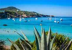 Sailing in Ibiza, Balearic Islands